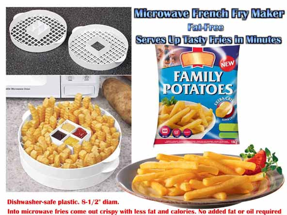 Microwave French Fries Maker – BestMicrowave